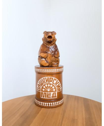 """Сувенирный медведь """"Мишка на чиляке"""" 0,45 кг РЕЗ"""