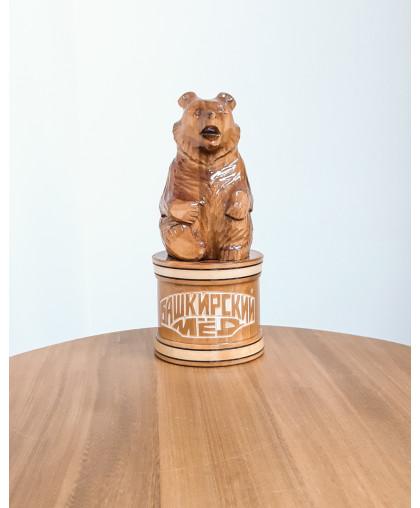 """Сувенирный медведь """"Мишка на чиляке"""" 0,2 кг"""
