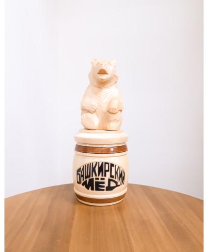 """Сувенирный медведь """"Мишка на тэпэне"""" 0,25 кг МП"""