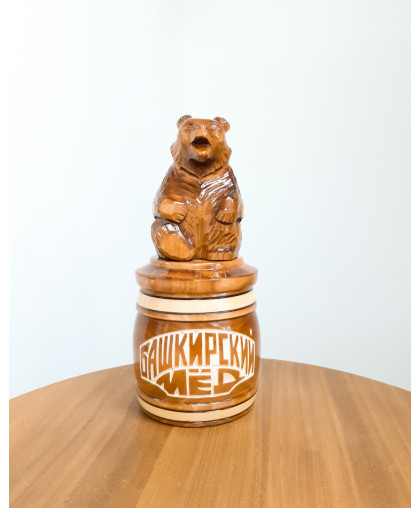 """Сувенирный медведь """"Мишка на тэпэне"""" 0,25 кг БП"""