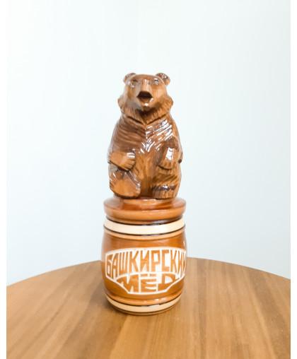 """Сувенирный медведь """"Мишка на тэпэне"""" 0,45 кг БП"""