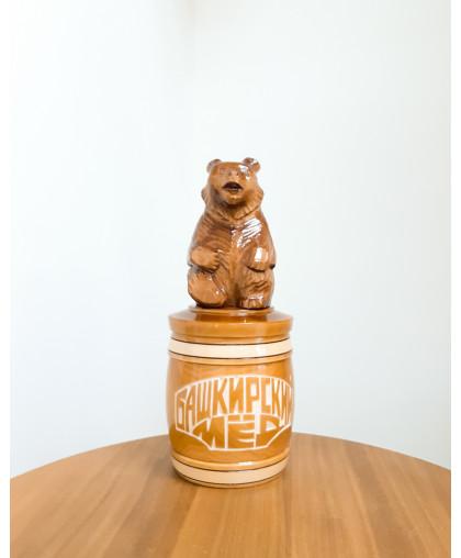 """Сувенирный медведь """"Мишка на тэпэне"""" 0,7 кг БП"""
