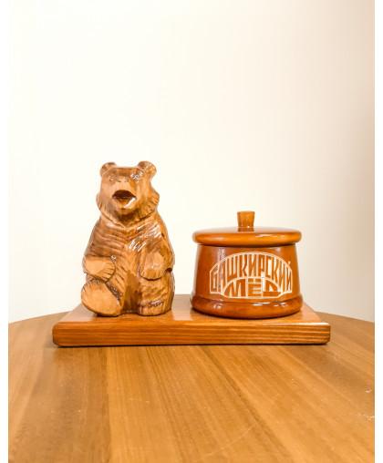 """Сувенирный медведь """"Мишка на пасеке"""" 0,15 кг Кадочка"""